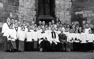 Easter Day 1954 - St James Church Choir